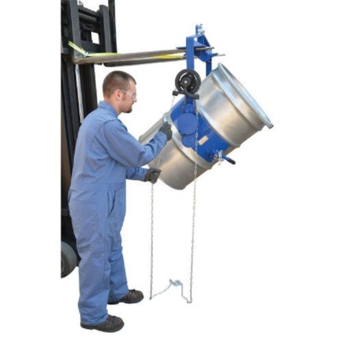 NEW! Adjustable Tilt Drum Dumper for 55 Gallon Steel Drum!!