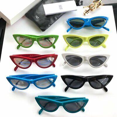 Authentic Celine Womens Sunglasses CL40019 Cat Eye Full Rim Red Frame Light (Celine Red Sunglasses)