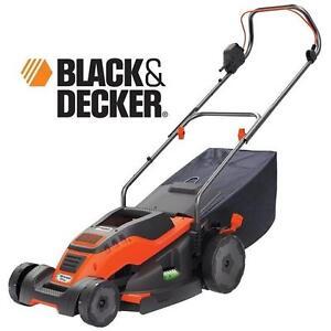 "USED* BLACK  DECKER 17"" LAWN MOWER ELECTRIC CORDED LAWNMOWER - LAWNS CARE LANDSCAPING MOWERS LAWNMOWERS POWER TOOLS"