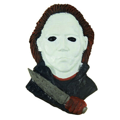 Resin Michael Myers Wall Plaque Fridge Magnet For Halloween Home Decoration