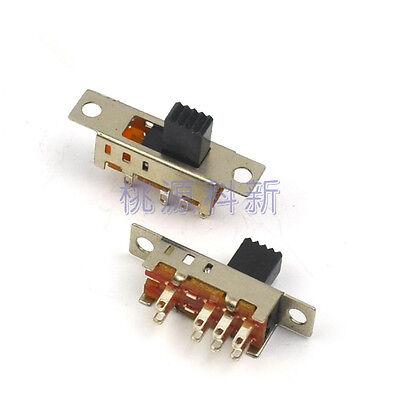 20pcs Toggle Switch Slide Switch 2p3t 3position Dc 50v 0.3a Ss23e04 G5