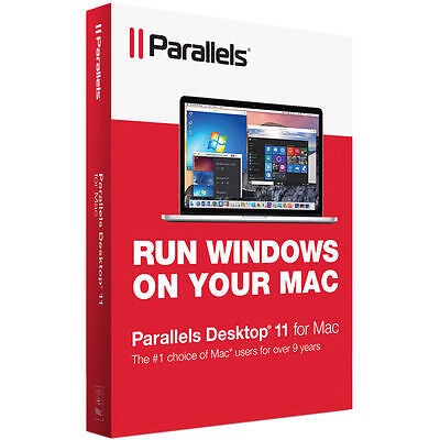 Parallels Desktop 11 for Mac ✔Brand NEW✔