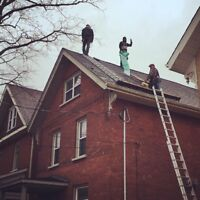 Hiring roofing laborers
