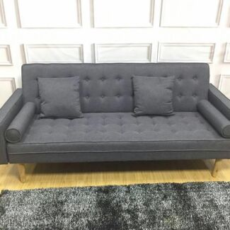 Franch Style Brand New Fabric Sofa Bed Grey Special Price