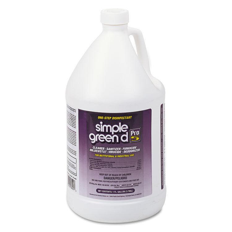 Simple Green d Pro 5 Disinfectant 1 gal Bottle 30501