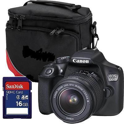Canon EOS 1300D - EF-S 18-55mm DCIII Spiegelreflexkamera  Paket 16