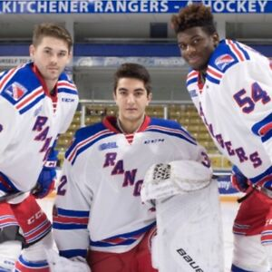 Rangers vs Greyhounds Game 4 Wed, Apr 25 (center ice pair)