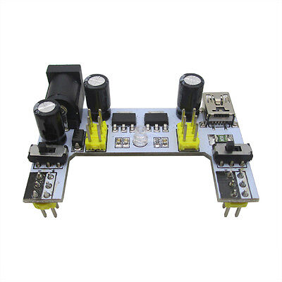 Upgraded K2 Mb102 Breadboard Power Supply Module 3.3v 5v For Solderless Arduino
