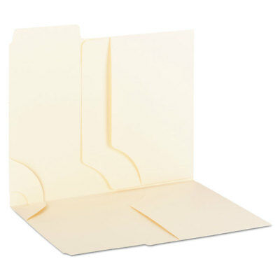 Smead 3-in-1 Supertab Section Folders 13 Cut Top Tab Letter Manila 12pack