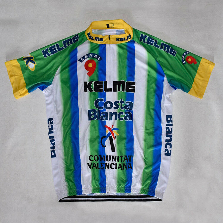 G.S.BIKO Cycling Jersey Retro Road Pro Clothing MTB Short Sleeve Racing