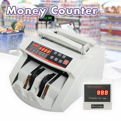 Money Bill Counter Counting Machine Detector Uvmgirdd Cash Bank Counterfeit