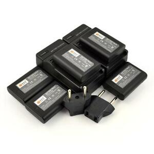 NIKON DSLR - CANON DSLR - MIRRORLESS CAMERAS BATTERIES AND CHARGERS