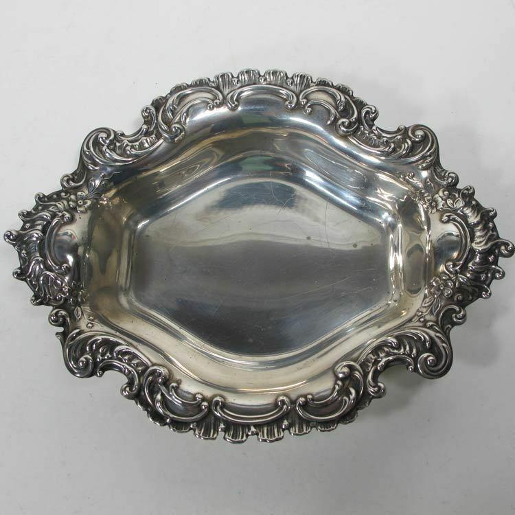 Sterling Silver REED & BARTON Ornate Bon Bon CANDY DISH - 135 grams