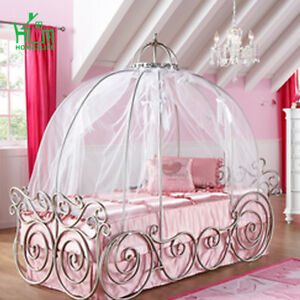 Princess Carriage Bed with Canopy