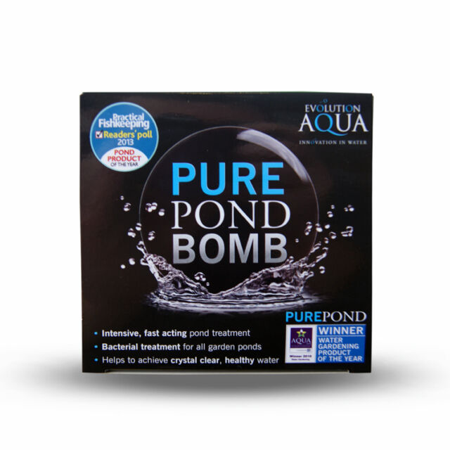 Evolution aqua Pure Pond Bomb - Queni Koi