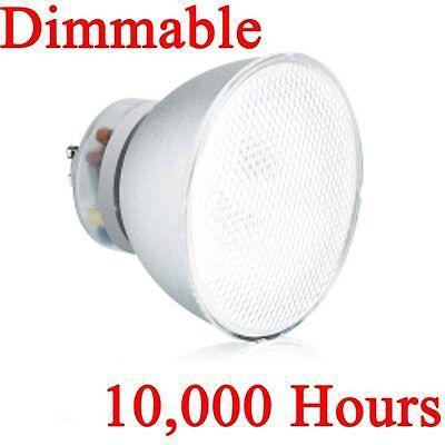 Gu10 Fluorescent Bulbs - 10 x Aurora PAR38 GU10 23W Energy Saving CFL Compact Fluorescent Lamp / Bulb 4K