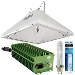 AMAZING!!! Galaxy LEC 315 Remote Ballast w/ Remote 315 Reflector & Philips 315W Elite Agro Lamp 3100K (Full Spectrum)