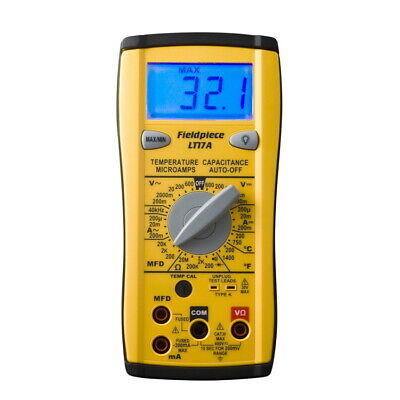 Fieldpiece Lt17a Digital Multimeter