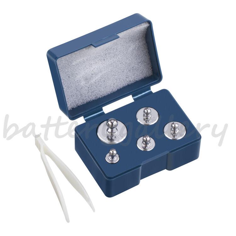 5 pcs calibration weight set 5g 10g 20g 20g 50g  -- 105g total weight