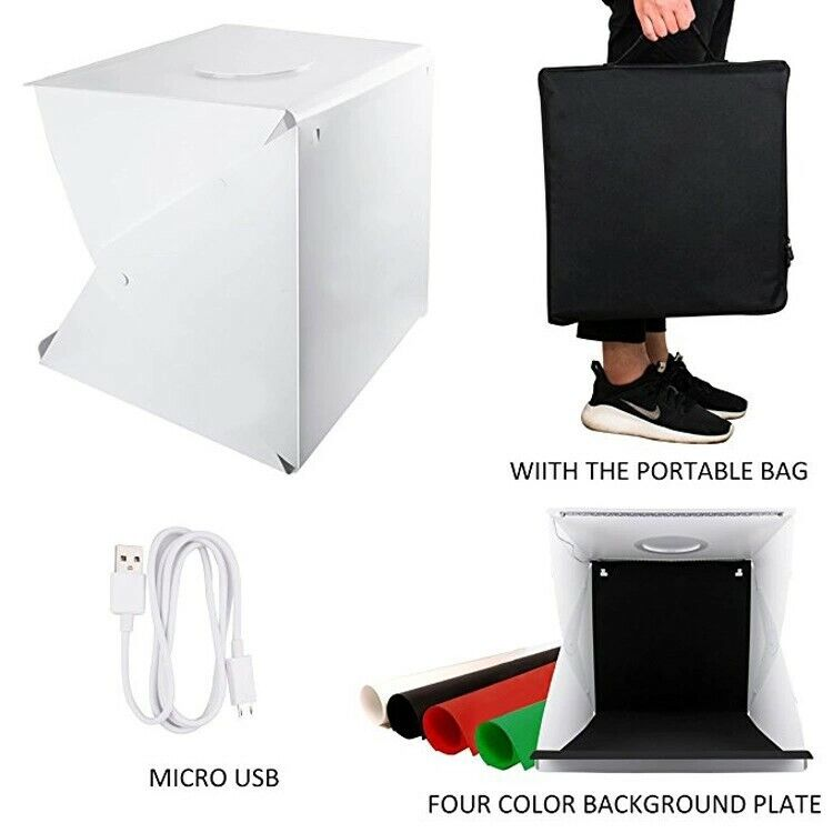 Melcan 40CM Photo Photography Light Box Large Lighting Tent