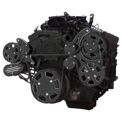 Black Diamond Serpentine System for Chevy LT1 Generation II