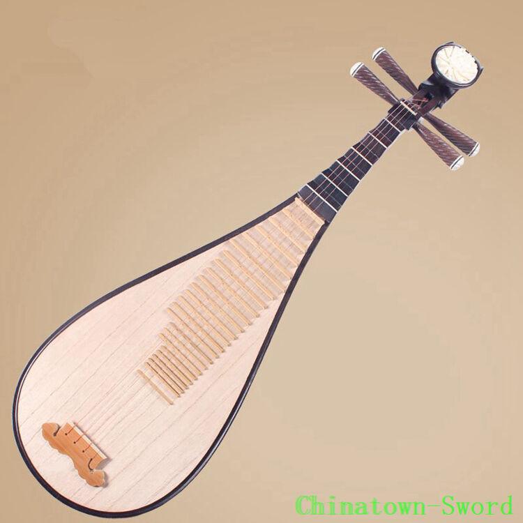 Chinese Soprano Pipa Lute Guitar Liuqin - Xinghai Musical Instrument #4147