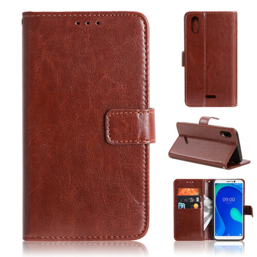 For OUKITEL C17 Pro Case PU Leather Flip Wallet Card Holder