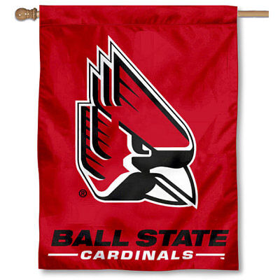 Ball State Cardinals New Logo House Banner Flag