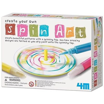 4M Create Your Own Spin Art Ages 5+ Special Needs Autism