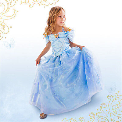 Cinderella Disney inspired Dress Princess costume New FREE SHIP Child Toddler - Disney Costums