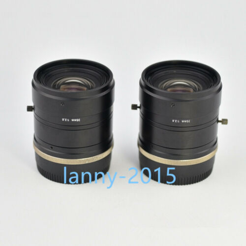1pc Used U-tron Fv3526l-f Full Frame Line Scan Fixed Focus Industrial Lens