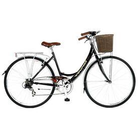 Two ladies bikes