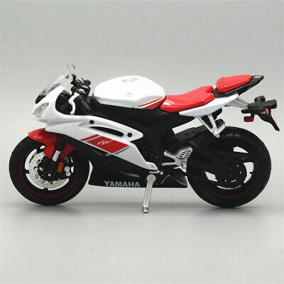 Maisto 1:18 Scale YAMAHA YZF-R6 Motorcycle Diecast Model Motor Bike Toys Gifts