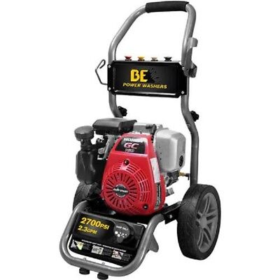 New Be Pressure 2700 Psi Pressure Washer W Honda Cg160 Motor Ar Rmv Pump