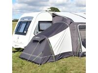 Oxygen airframe 340 awning with compact airlite annex