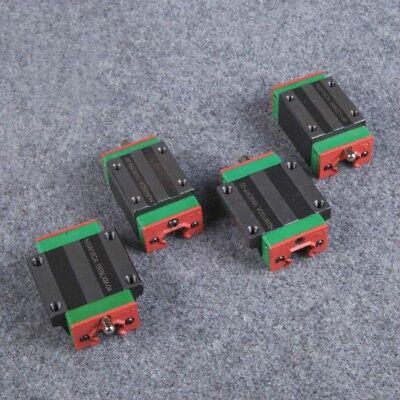 4 Pcs Hgh20ca Carriage Block Bearing For Hgr20 Hiwin-linear Rail