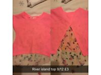 Baby girl cloths 6/9-9/12