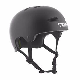 TSG Evolution Black helmet Size S/M