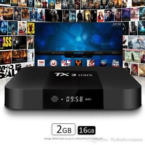 PRELOADED ANDROID TV BOXES (ANDROID 7.1 KODI 17.5) AT $100