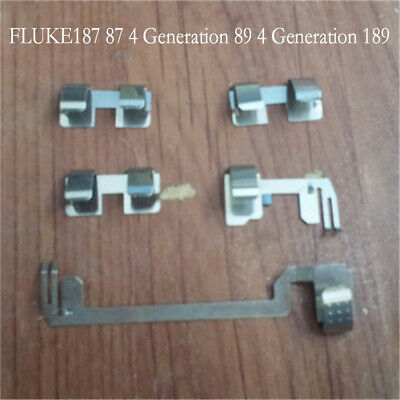 For Fluke187 87 4 89 4 Generation 189 Multimeter Battery Contact Piece Parts