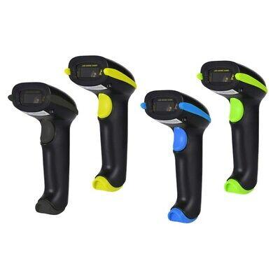 Yhd-5100wireless Barcode Scanner Laser Barcode Reader 1d 2d Qr Handheld Black