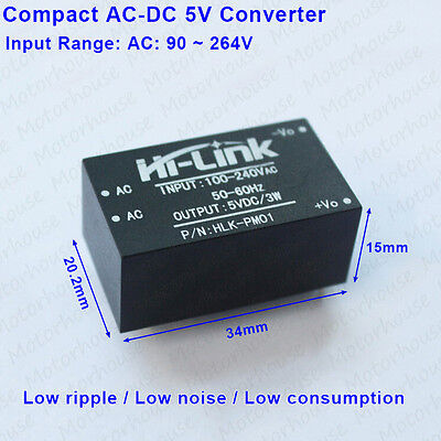 Ac-dc Converter 110v 220v 230v To 5v 600ma Isolated Power Switching Transformer