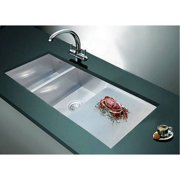 1160x460mm Handmade Stainless Steel Kitchen Laundry Sink | Other ...