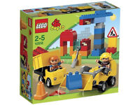 LEGO DUPLO 10518 My First Construction Site Complete Set