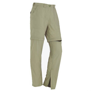 Womens Convertible Pants Shorts Insect Shield Outdoor Hiking Quick Dry UPF30