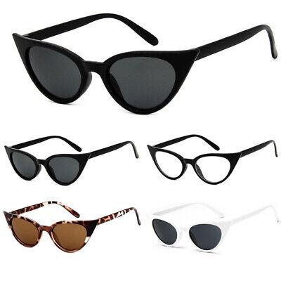 Sonnenbrille Katzenaugen Cat Eye Fashion Designer Rockabilly Brillen 100% UV400