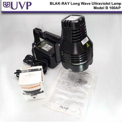 New Uvp Blak-ray Long Wave Ultraviolet Lamp Model B 100ap Open Box