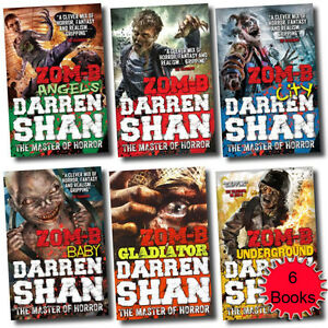 Zom-B Collection 6 Books Set Underground Darren Shan