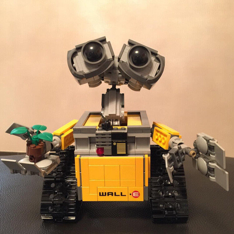 Wall E Robot New Lego Building Block Gift Games Figure Action Pixar Toy Model Building Toys