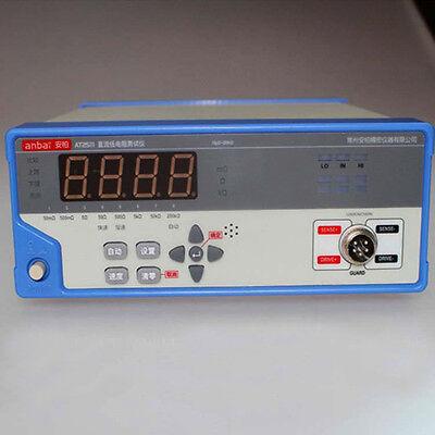 At2511 Applent Low Micro Ohm Meter Measurement Range 10200k 5000 Display